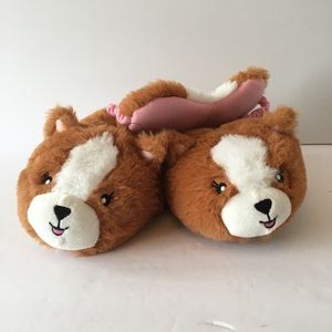 Other - New kids furry slippers with night mask